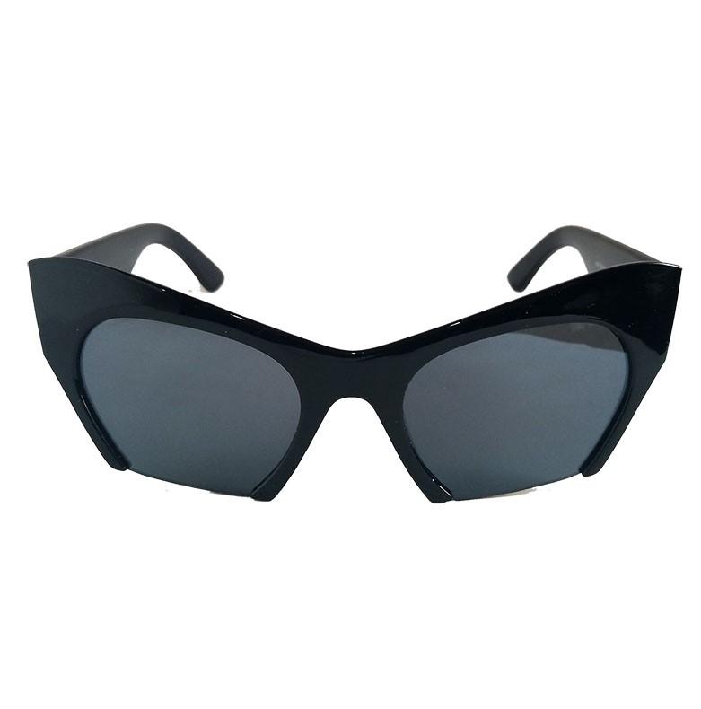 Oculos De Sol Feminino Cat Raso Rock Retro Vintage Black Gatinho