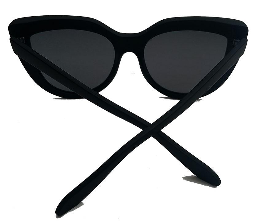 Oculos De Sol Feminino Gatinho Black Over Cat Lux Margot