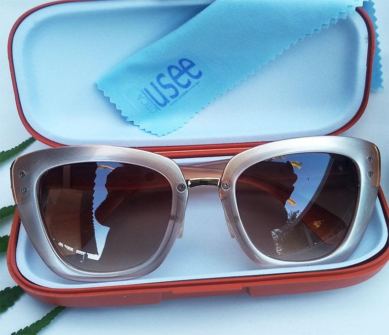 Óculos De Sol Feminino Gatinho Nude Lux Alexia 352