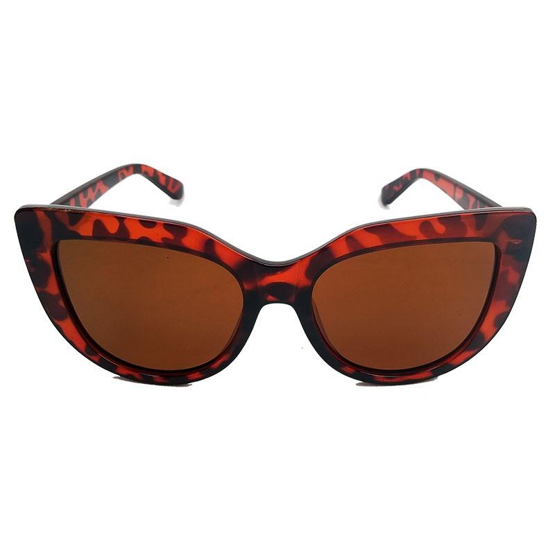 Oculos De Sol Feminino Gatinho Over Cat Oncinha Orange