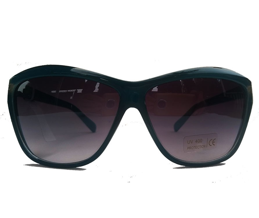 Oculos De Sol Feminino Mascara Azul Cat Crystal 2028 Confort