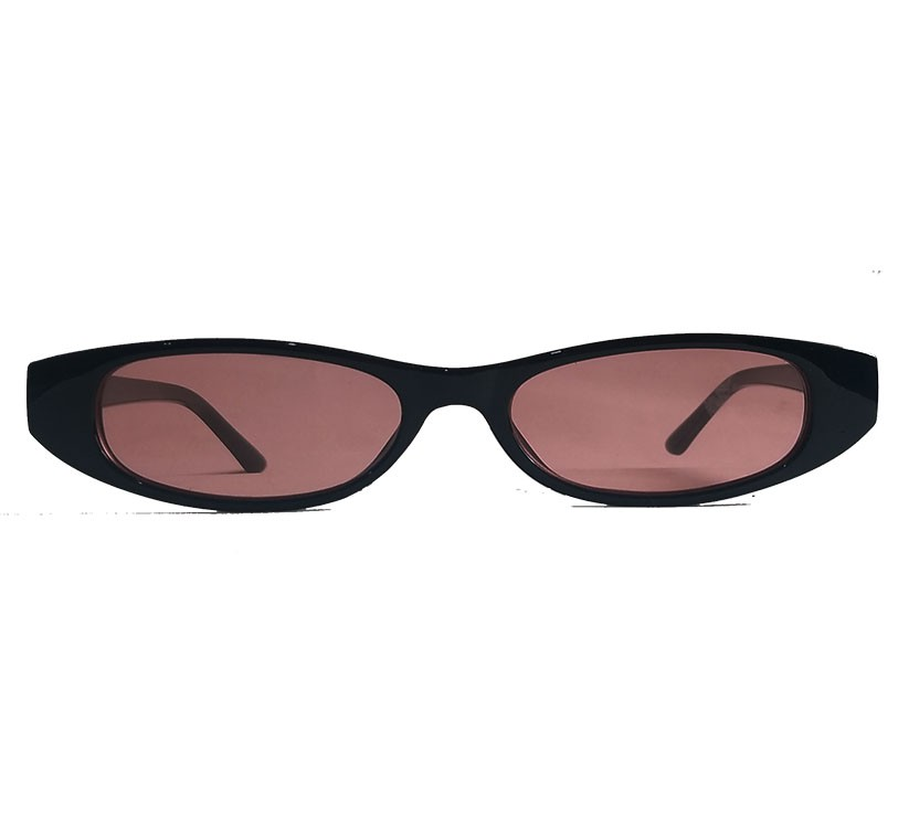 Oculos De Sol Fino Small Vintage Retro Fino Slim Black Rihanna skinny