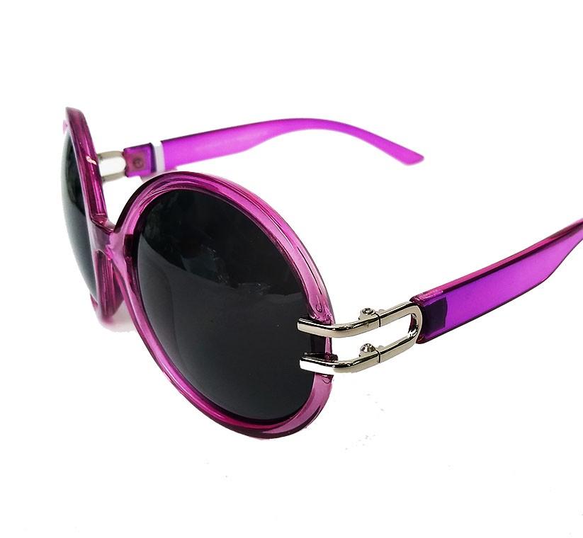 Óculos De Sol Redondo Oval feminino Audrey Reto Light Pink
