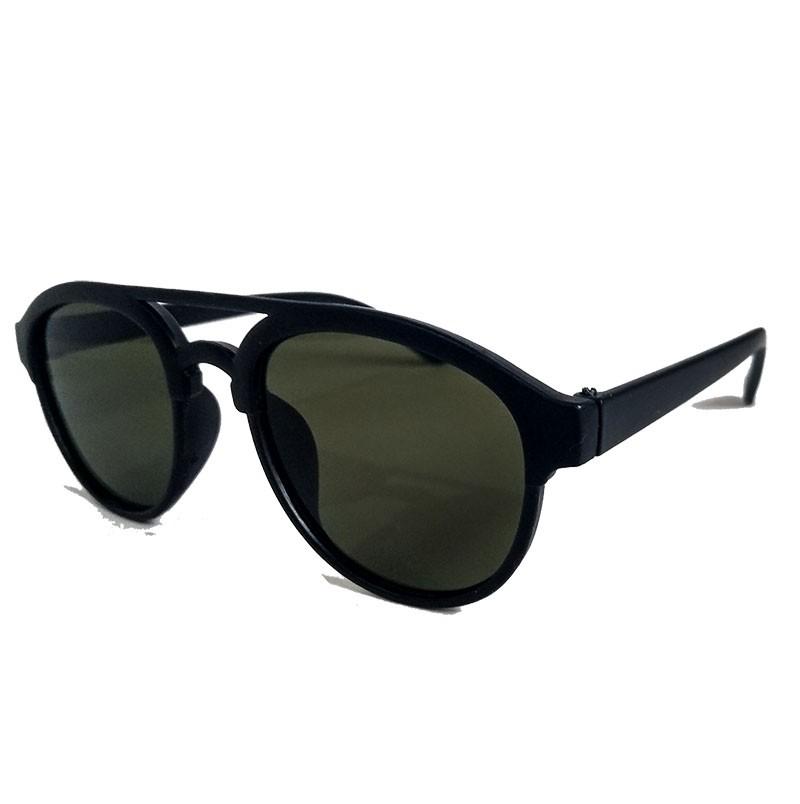 Oculos De Sol Redondo Punk Black fosco 8033 Noronha