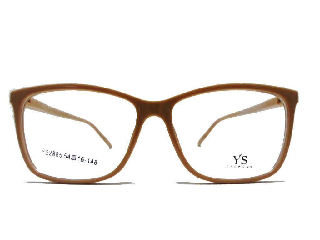 Óculos Receituário Gzi 3049 Transparent Nude Confortável Charmoso