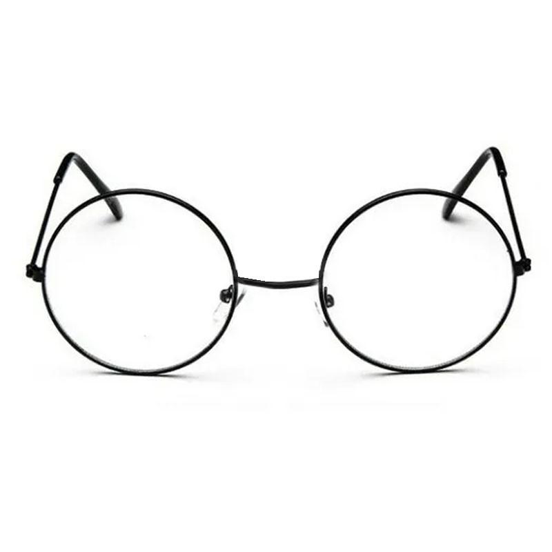 Óculos Redondo De Grau Redondo Retro vintage Metal Steel