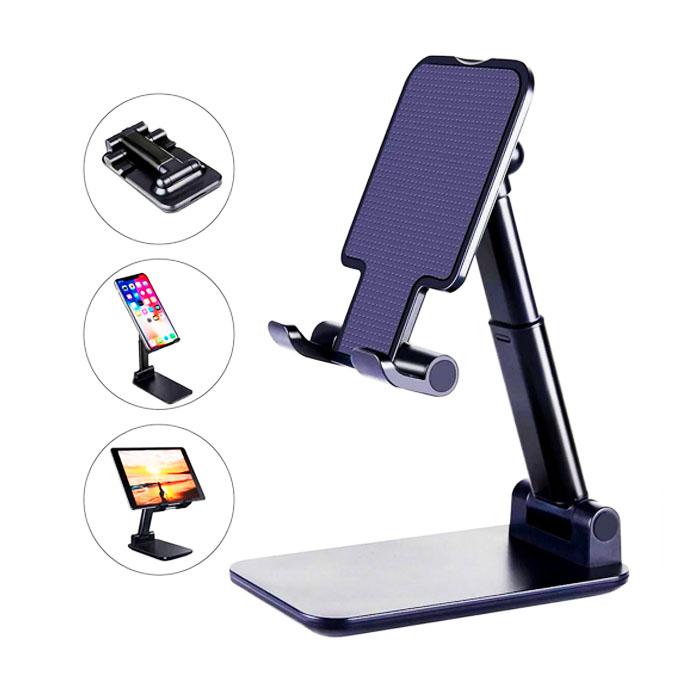Suporte para Celular e Tablet Ajustável articulado de mesa Desktop Ergonômico
