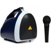 Behringer EuroPort EPA40 Caixa de Som Com Microfone, Bateria Recarregável, 220v