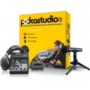 Behringer PodcaStudio Usb Kit de Estúdio, 220v