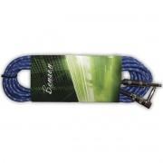 Benson GC056B Cabo para Instrumentos P10 x P10 (90°) de 6m Azul
