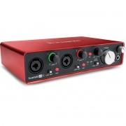 Interface de Áudio Focusrite Scarlett 2i4 2ª Geração, Gravação, Instrumentos