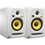 Krk RP5 G3 Rokit Powered Monitor de Audio Referencia para Estudio, Branco, 110v, Par