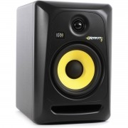 Krk RP6 G3 Rokit Powered Monitor de Áudio Referencia para Estudio, Preto, 110v, Unidade