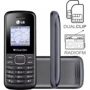 Celular LG B220 Dual Sim com Rádio e Lanterna