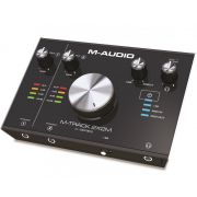 M-Audio M-Track 2x2M Interface de Audio USB, 2 Entradas, 2 Saidas