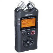 Tascam DR-40 V2 Gravador Digital de Áudio Voz 4-Faixas, Preto,+4Gb
