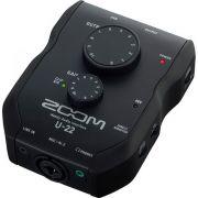 Zoom U-22 Gravador de Áudio