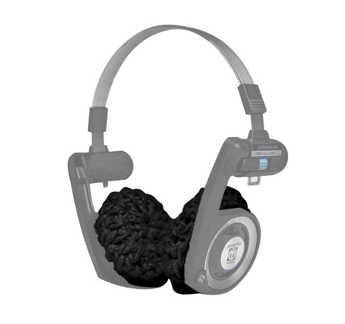 Almofada para Fone de Ouvido Koss Porta Pro, Preta