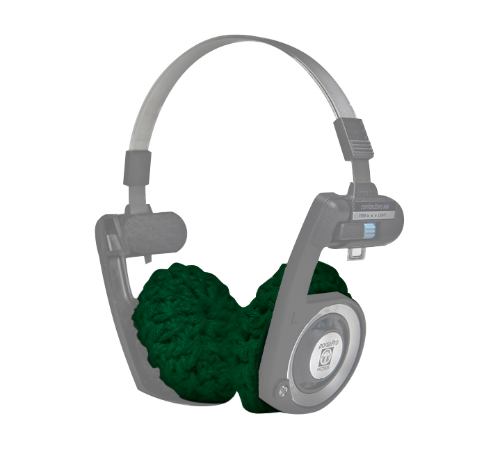 Almofada para Fone de Ouvido Koss Porta Pro, Verde