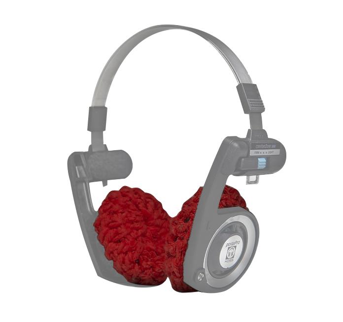 Almofada para Fone de Ouvido Koss Porta Pro, Vermelho