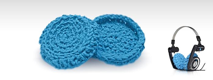 Almofada para Fone de Ouvido Koss Porta Pro, Azul