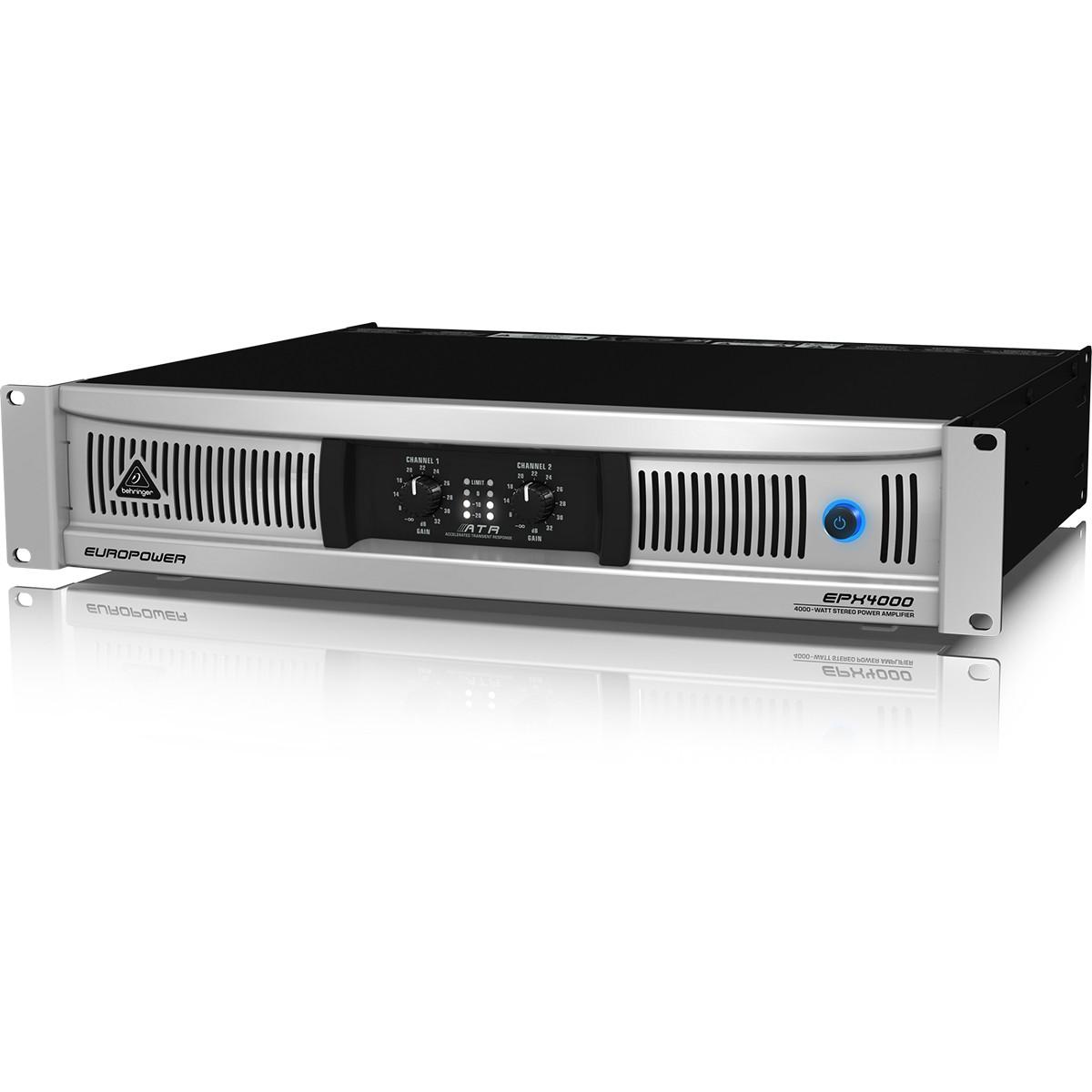 Behringer EuroPower EPX4000 Amplificador, 220v