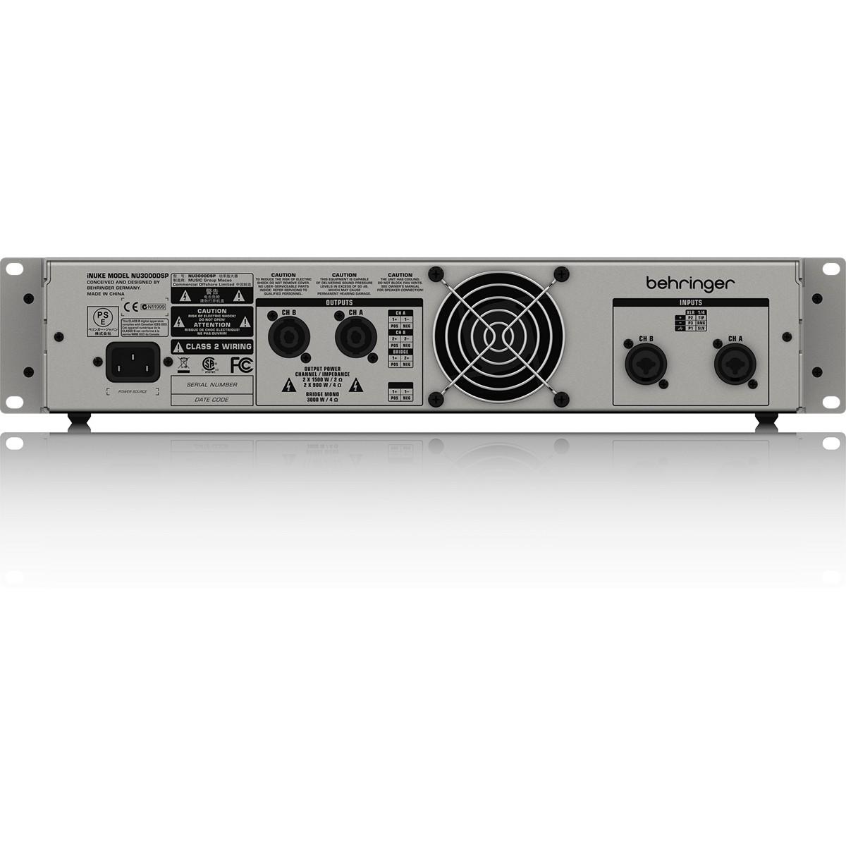 Behringer iNuke NU3000DSP Amplificador, 220v