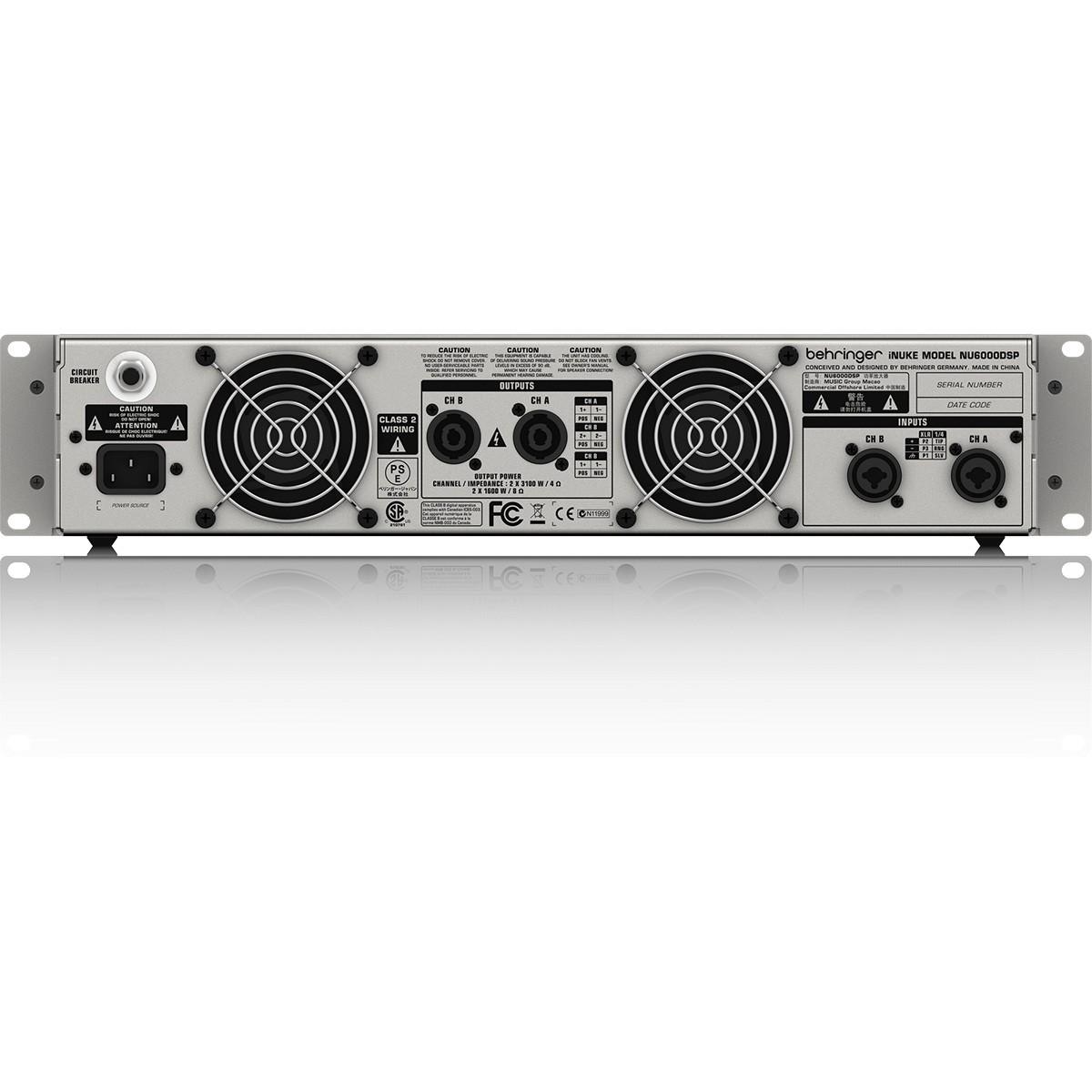 Behringer iNuke NU6000DSP Amplificador, 220v