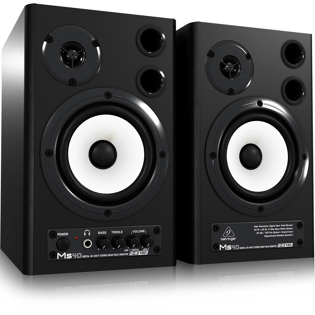 Behringer Speaker MS40 Caixa Multimídia 40w, 220v, Par
