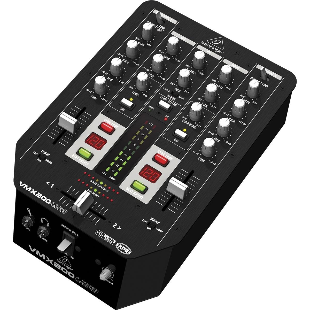 Behringer VMX200 Usb Mixer de Dj de 2 Canais, 220v