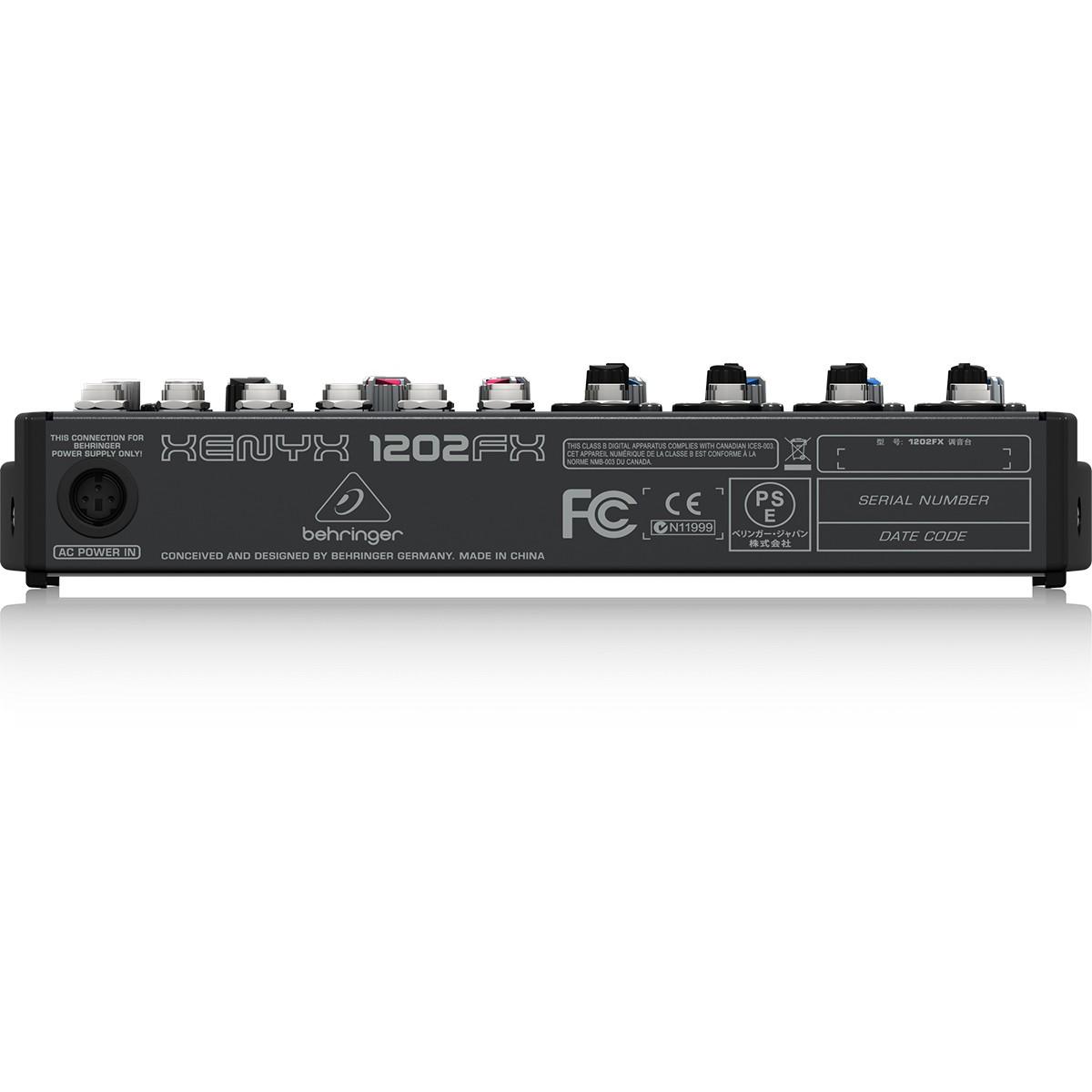 Behringer Xenyx 1202Fx Mesa Mixer, 220v