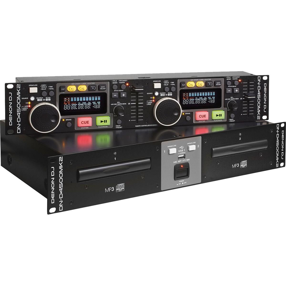 Denon DN-D4500 MK II CD/MP3 Player Duplo, 220v