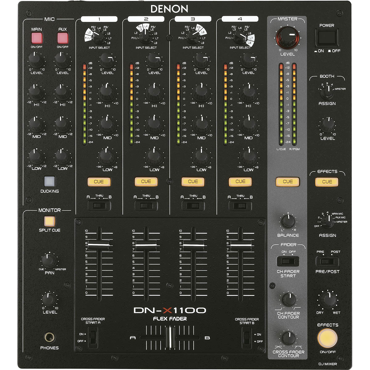 Denon DN-X1100 Mixer Dj, Bivolt