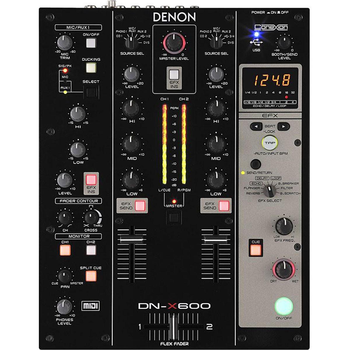 Denon DN-X600 Mixer Dj, 110v