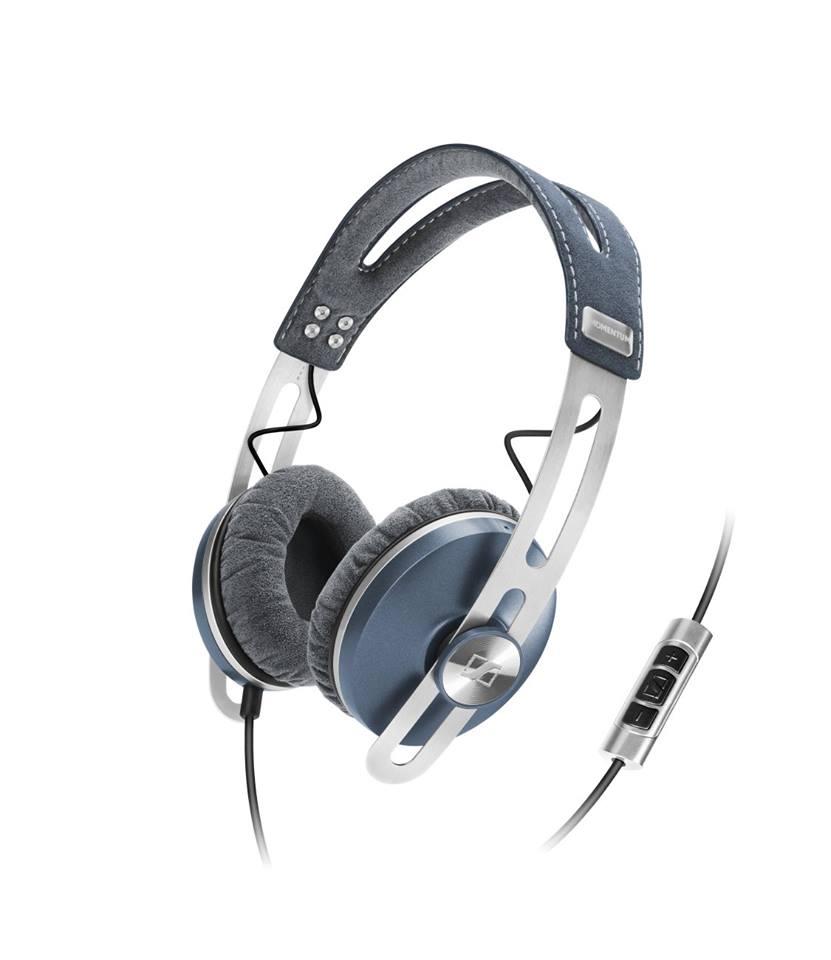 Sennheiser Momentum On-Ear Fone de Ouvido, Azul
