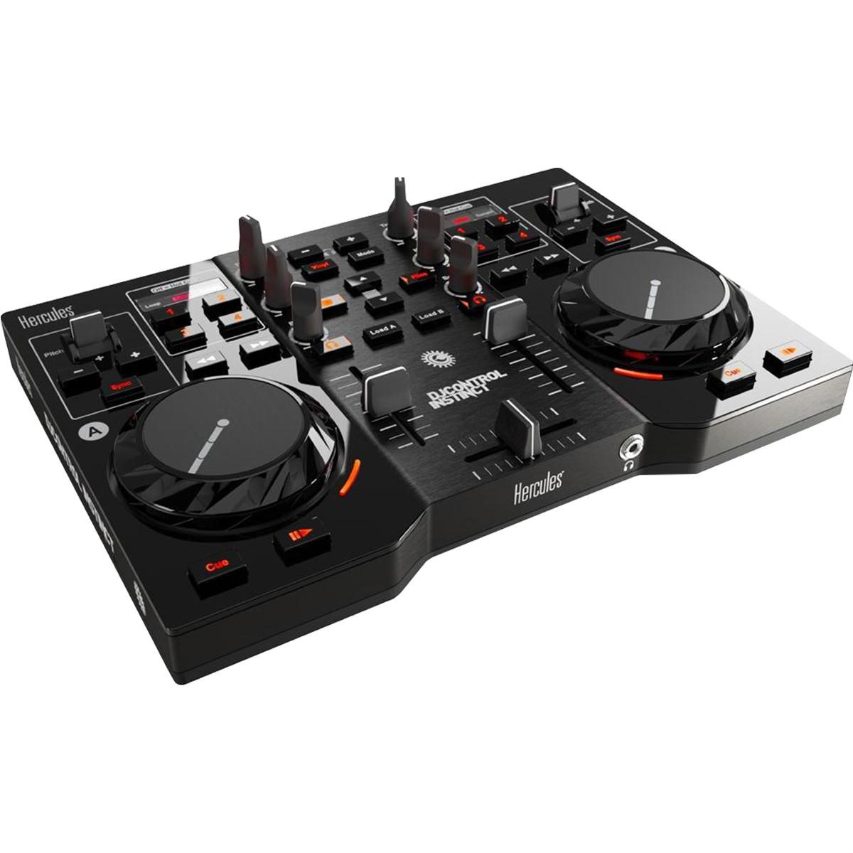Hercules DJ Control Instinct Controladora Dj, Usb