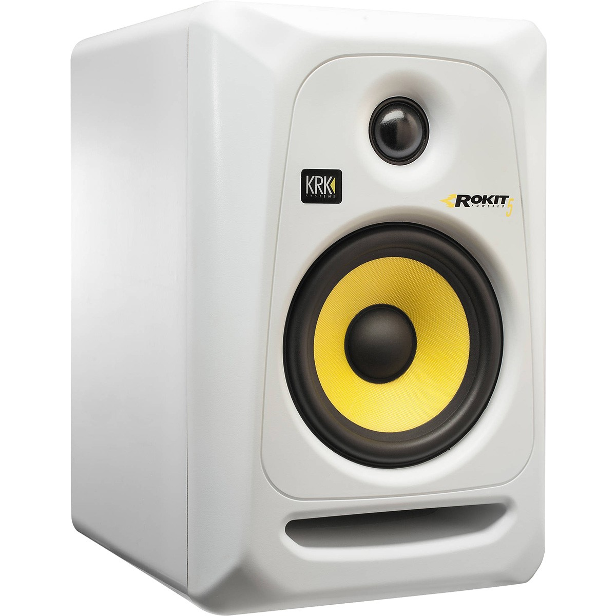 Krk RP5 G3 Rokit Powered Monitor de Audio Referencia para Estudio, Branco, 220v, Unidade