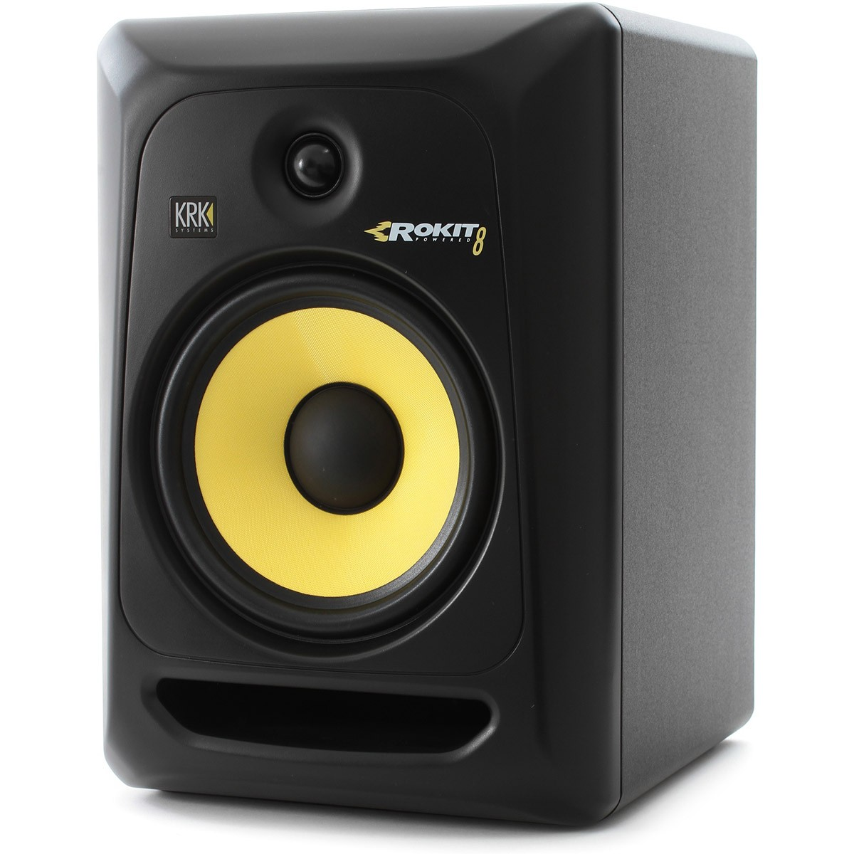 Krk RP8 G3 Rokit Powered Monitor de Áudio Referencia para Estudio, Preto, 110v, Unidade