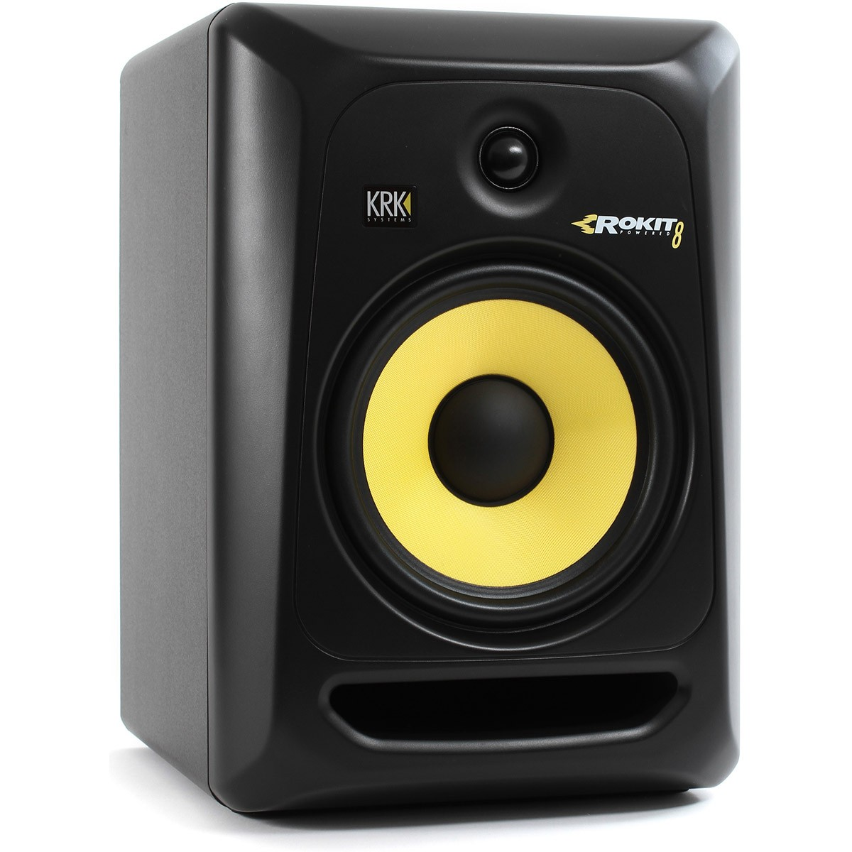 Krk RP8 G3 Rokit Powered Monitor de Áudio Referencia para Estudio, Preto, 220v, Unidade
