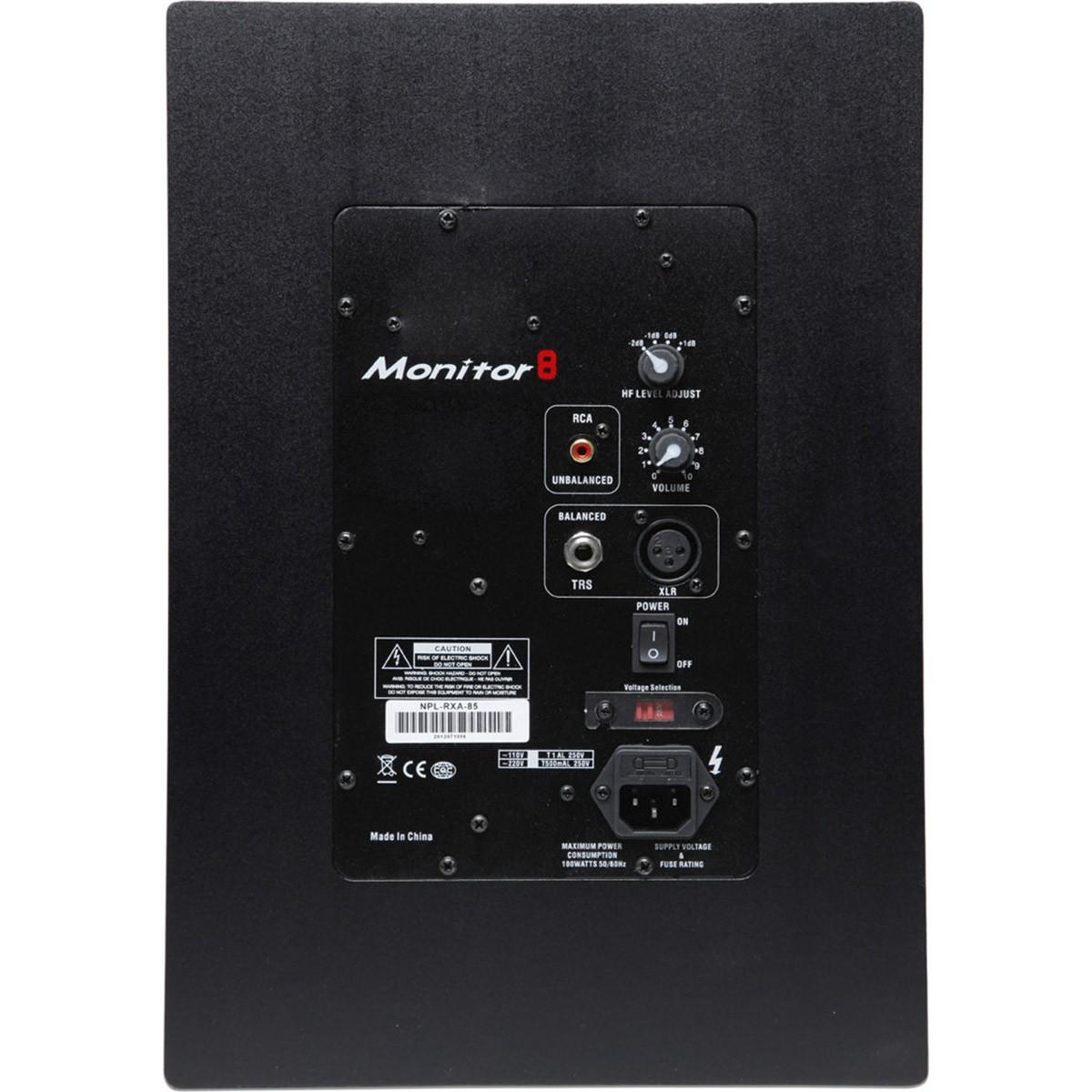 Napoli RXA 85 Monitor de Áudio, Bivolt, Par