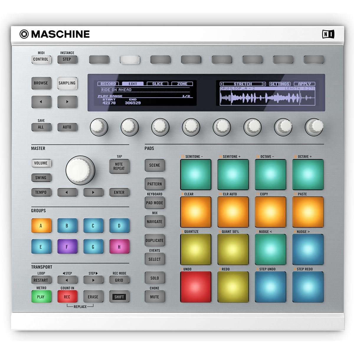 Native Instruments Maschine MKII Sampler, Branca