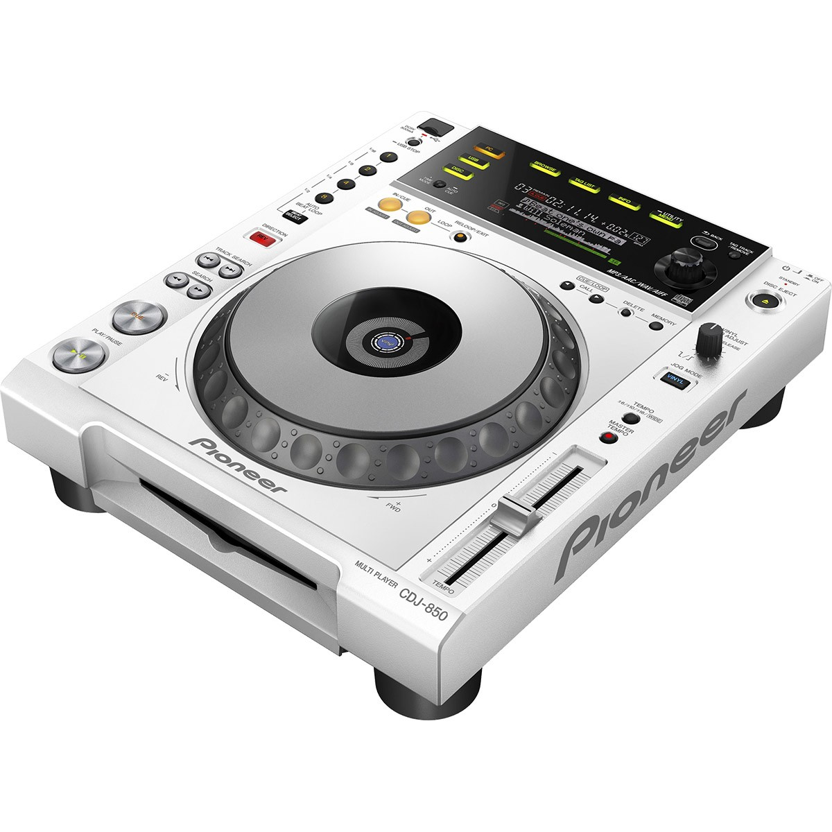 Pioneer CDJ-850, Rekordbox, Branco, Bivolt