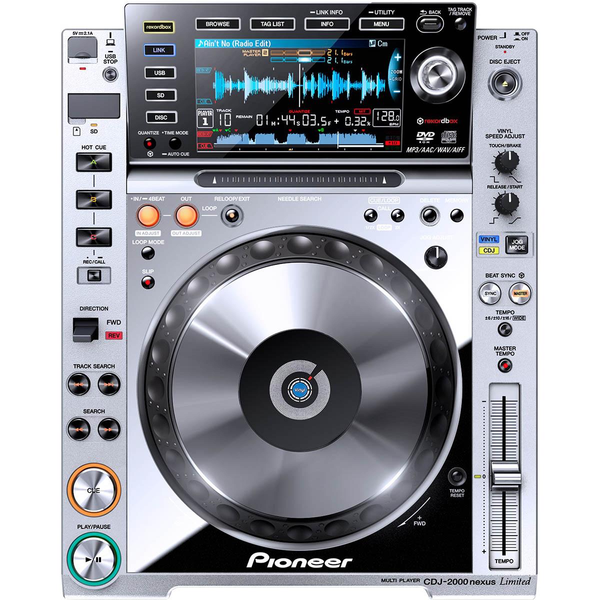 Pioneer Dj CDJ-2000 Nexus, Platinum, Bivolt