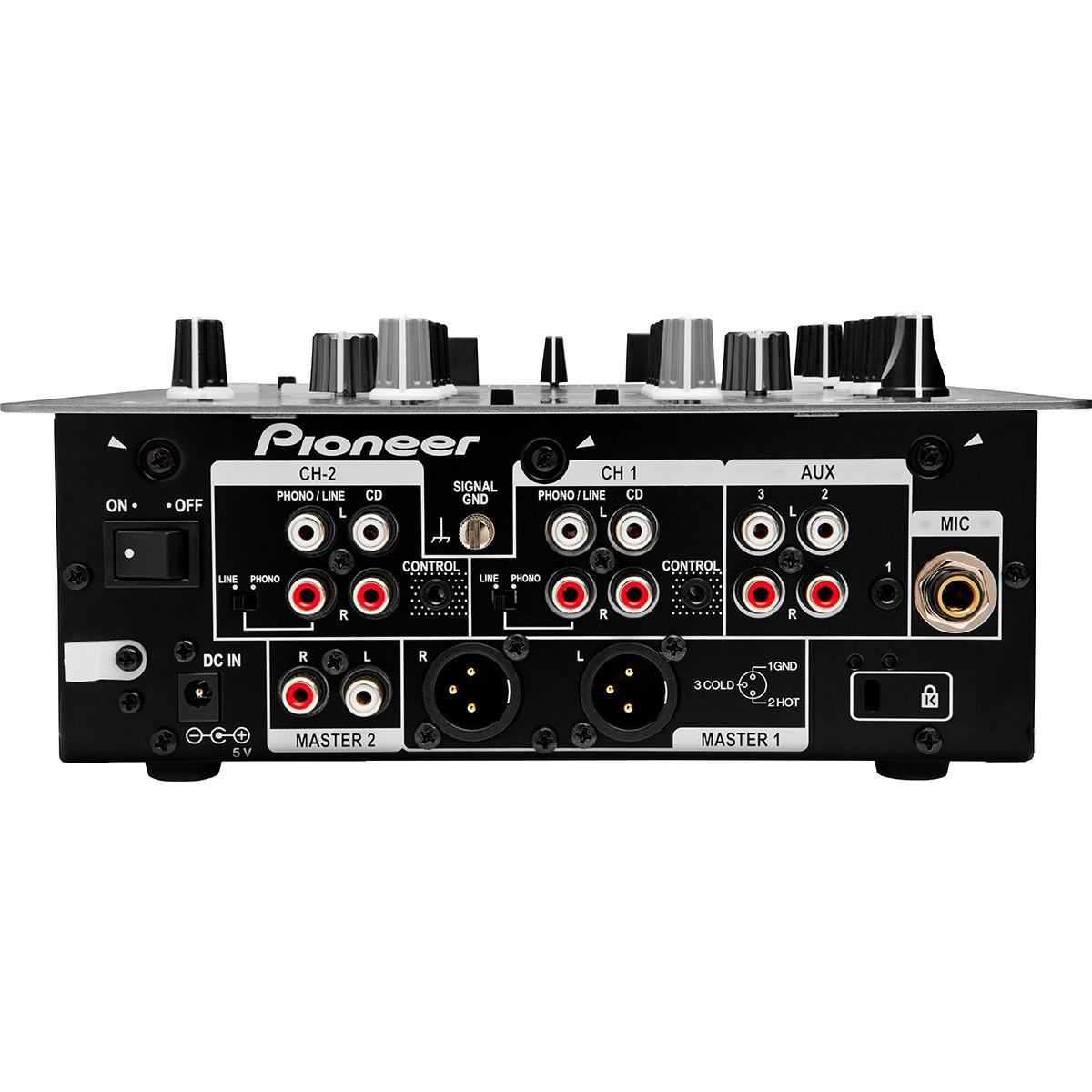Pioneer DJM-250 Mixer Dj, Preto, Bivolt