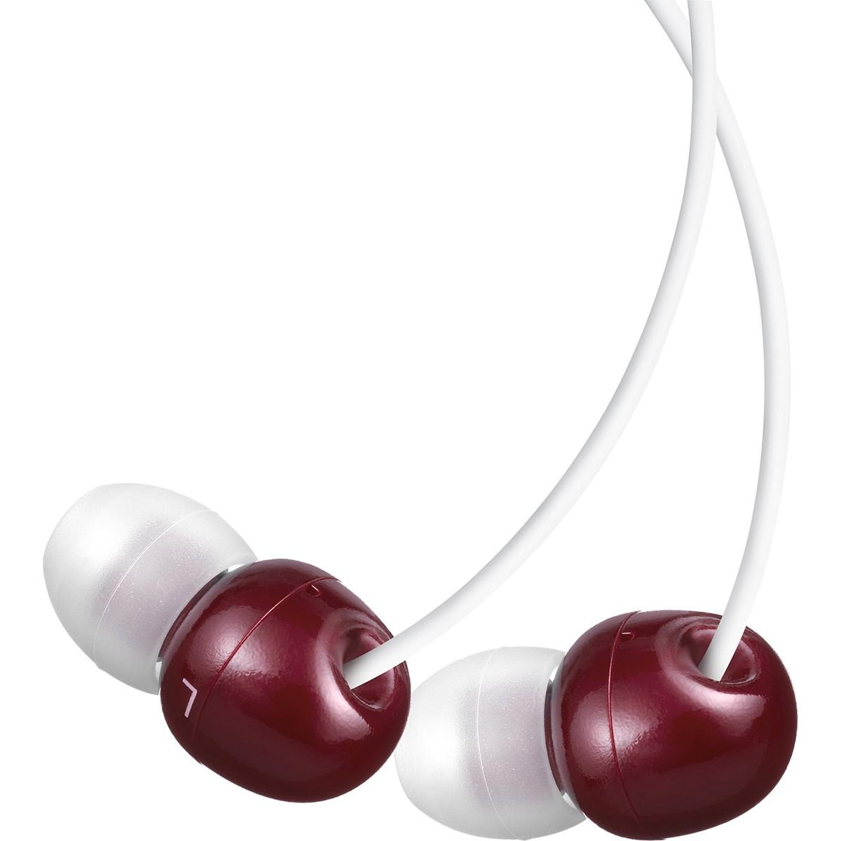 Pioneer SE-CL23 Fone de Ouvido, Vermelho