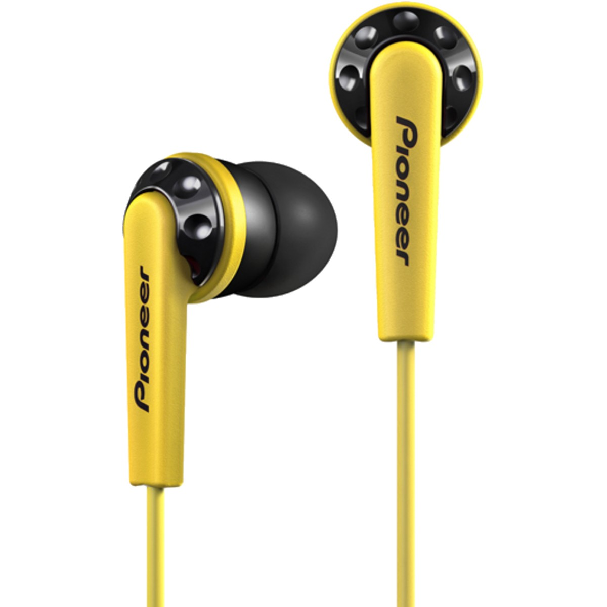 Pioneer SE-CL711 Fone de Ouvido, Amarelo