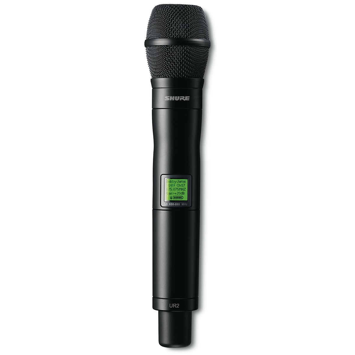 Shure UR2/KSM9 BK Microfone Transmissor Sem Fio UHF-R