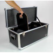 Hard Case Baú Acessórios (70x30x30) com divisões móveis