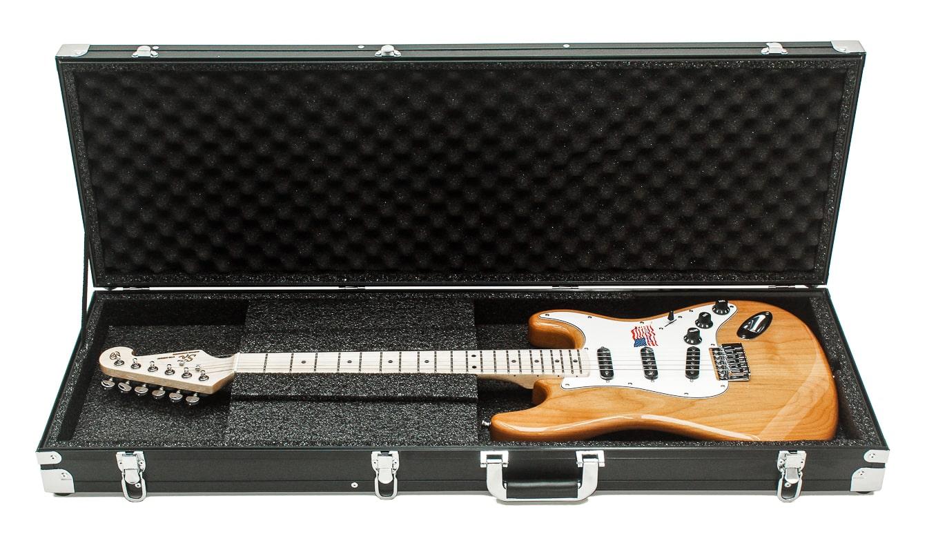 Case Estojo Guitarra Strato e Tele Retangular Profissional