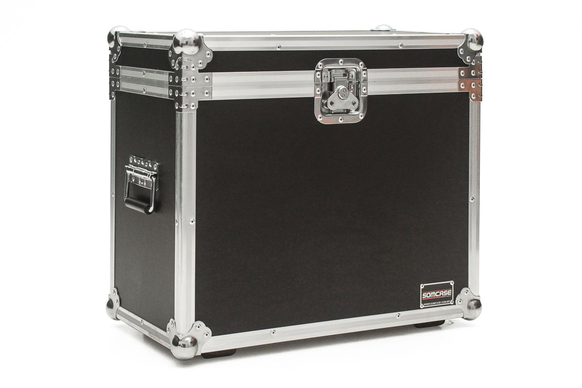 Hard Case Amplificador Cubo Fender Blues Junior baú - emb6  - SOMCASE